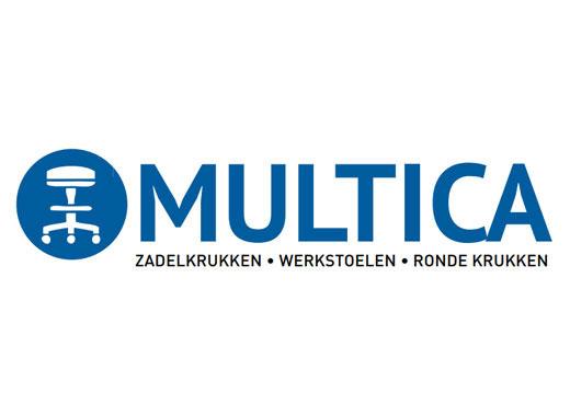 Logo-Multica werkstoelen